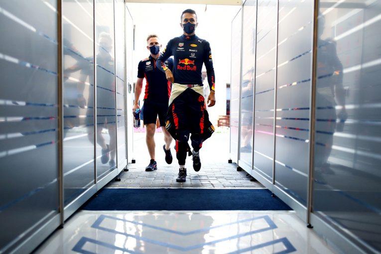 F1 | アルボン「シーズンベストの予選。自分のパフォーマンスに満足」レッドブル・ホンダ【F1第17戦】