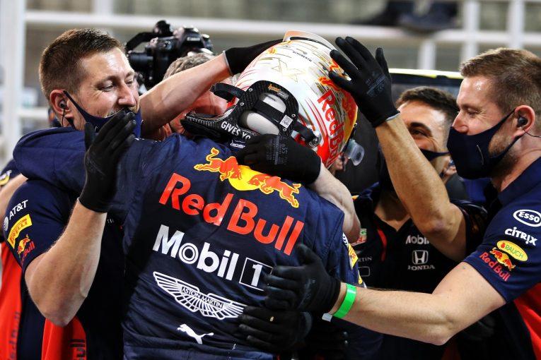 F1 | レッドブル代表「マックスにはまた驚かされた。このポールを必ず勝利につなげよう」【F1第17戦】