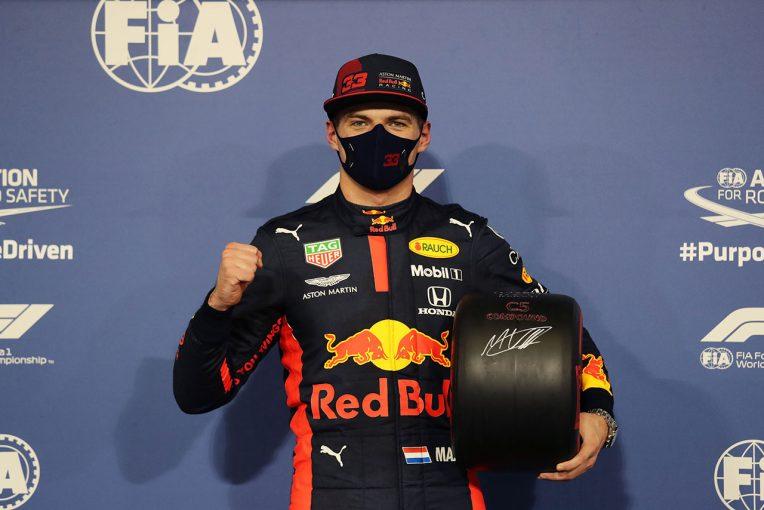 F1 | 【気になる一言】今季初ポールのフェルスタッペン「右手が太ももに引っかかった」と珍しいハプニングを語る