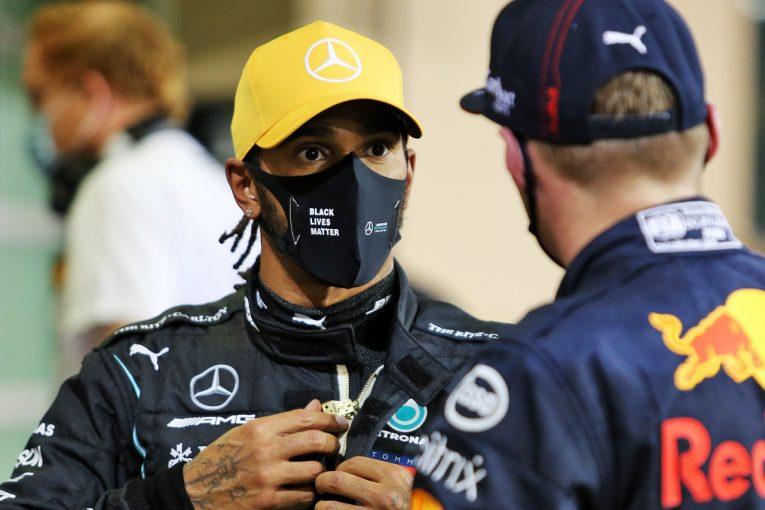 F1   病み上がりのハミルトン、予選3番手に落胆「決勝ではマックスを苦しめたい」メルセデス【F1第17戦】