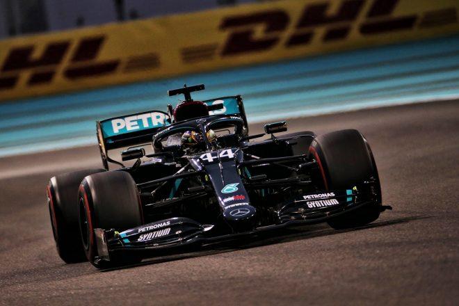 2020年F1第17戦アブダビGP ルイス・ハミルトンのメルセデスF1 W11
