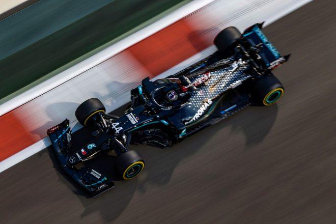 2020年F1第17戦アブダビGP ルイス・ハミルトン(メルセデス)