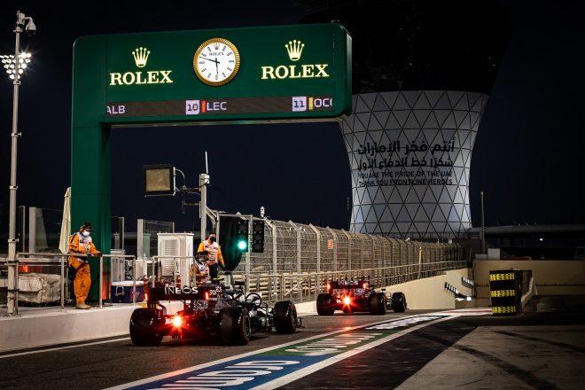 2020年F1第17戦アブダビGP バルテリ・ボッタスのメルセデスF1 W11
