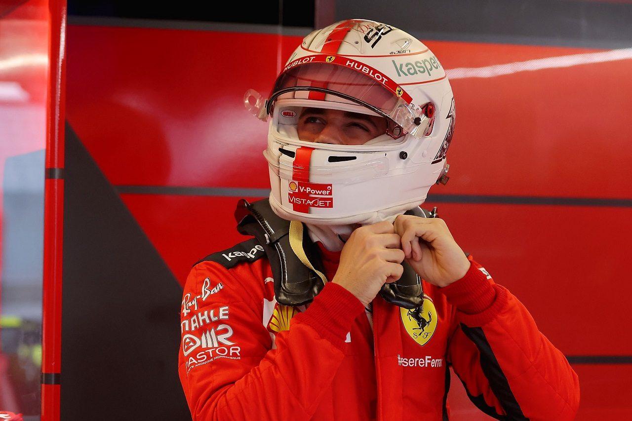 2020年F1第17戦アブダビGP シャルル・ルクレール(フェラーリ)