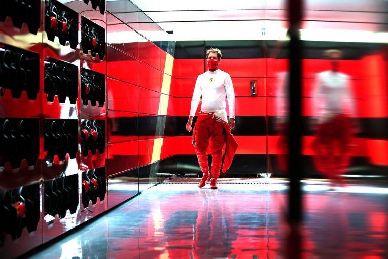 F1 | ベッテル13番手「フェラーリでの最後の予選だから、もっといい結果を出したかった」【F1第17戦】