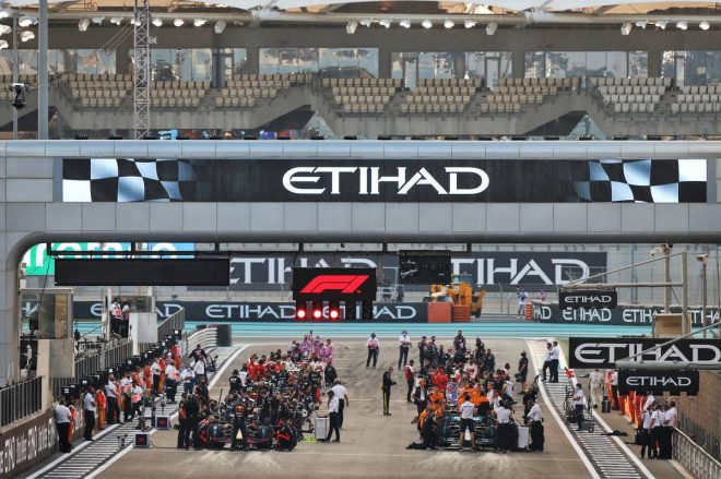 2020年F1第17戦アブダビGP グリッド
