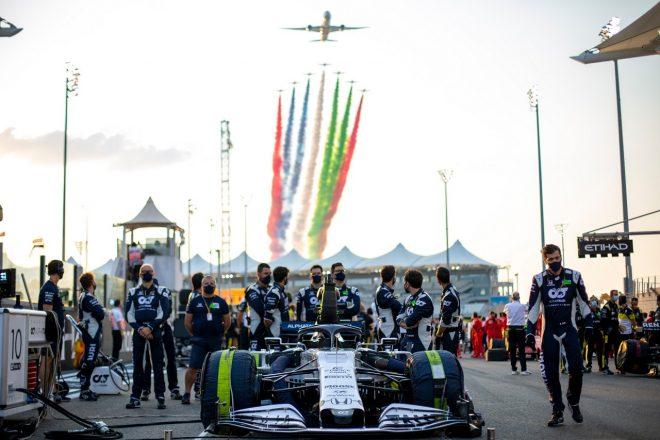2020年F1第17戦アブダビGP ピエール・ガスリー(アルファタウリ・ホンダ)