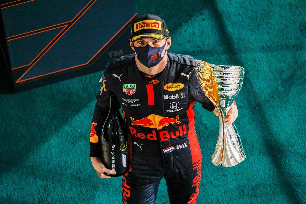 2020年F1第17戦アブダビGP マックス・フェルスタッペン(レッドブル・ホンダ)が優勝