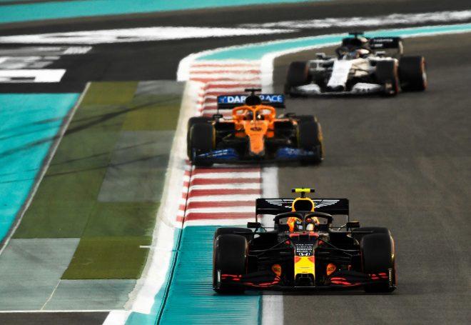 2020年F1第17戦アブダビGP アレクサンダー・アルボンのレッドブルRB16・ホンダ