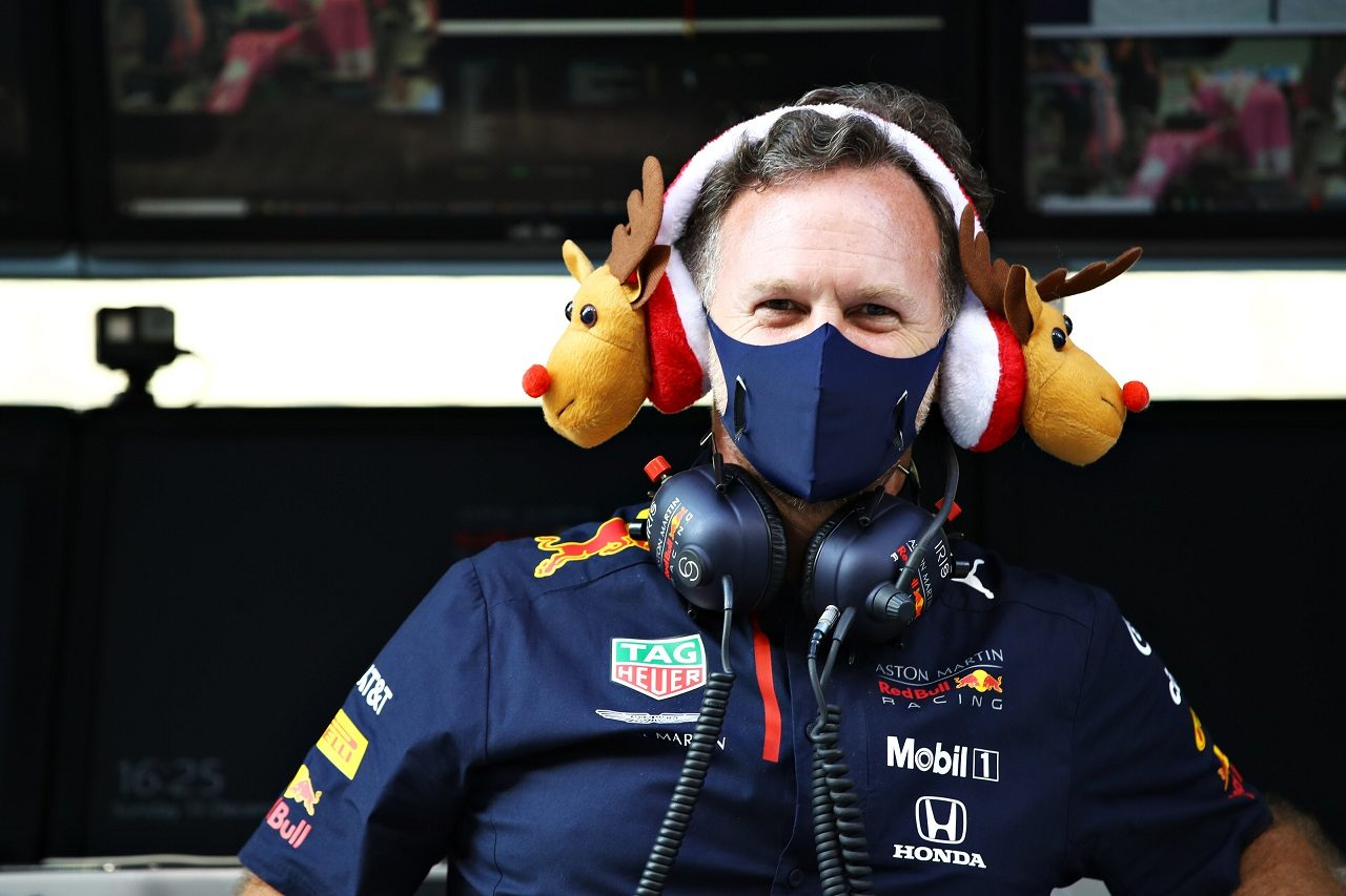 2020年F1第17戦アブダビGP レッドブル代表クリスチャン・ホーナー