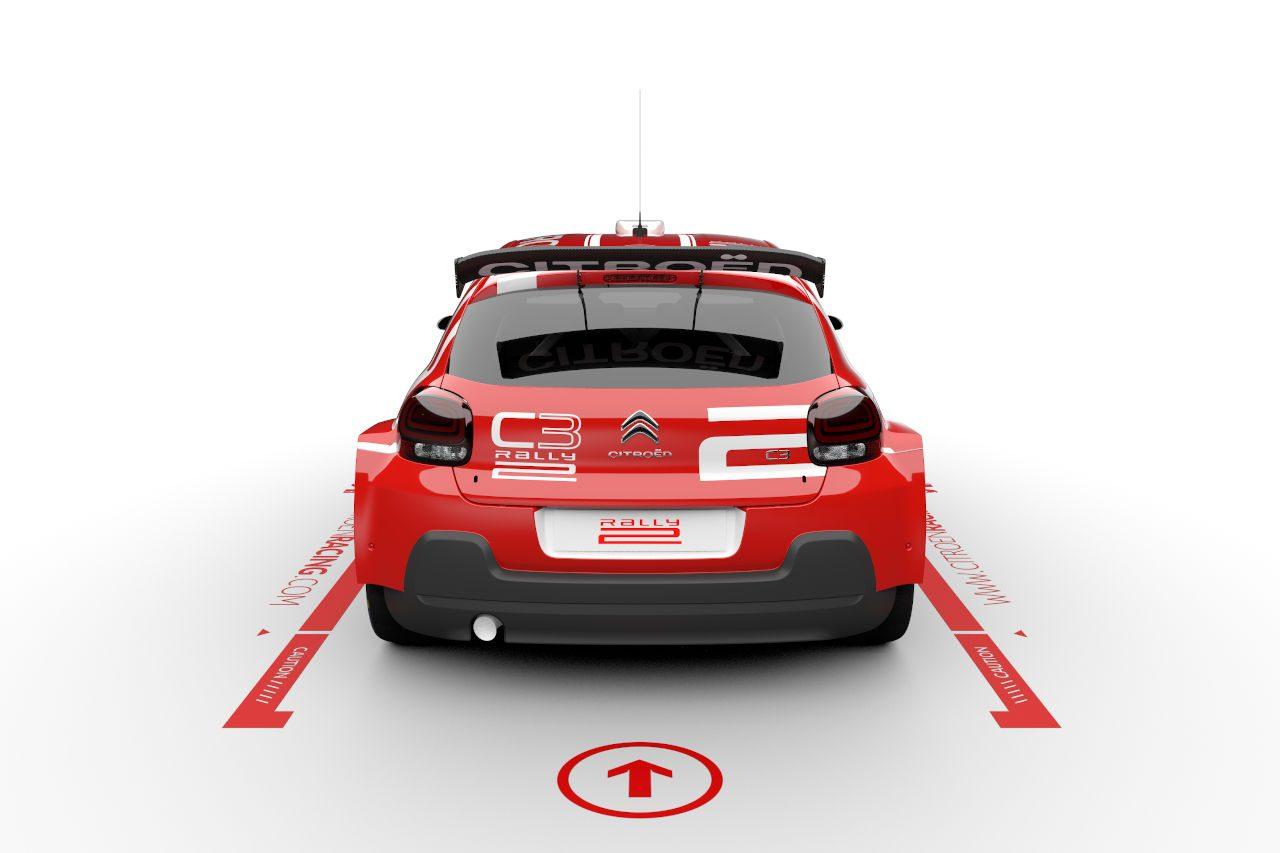 WRC:シトロエンが『C3ラリー2』発表。R5のアップグレード版として2021年デビュー