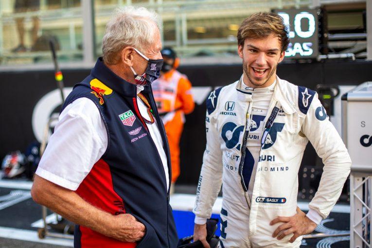 F1   ガスリー8位「困難な週末だったが最大の結果を出せた」アルファタウリ・ホンダ【F1第17戦】