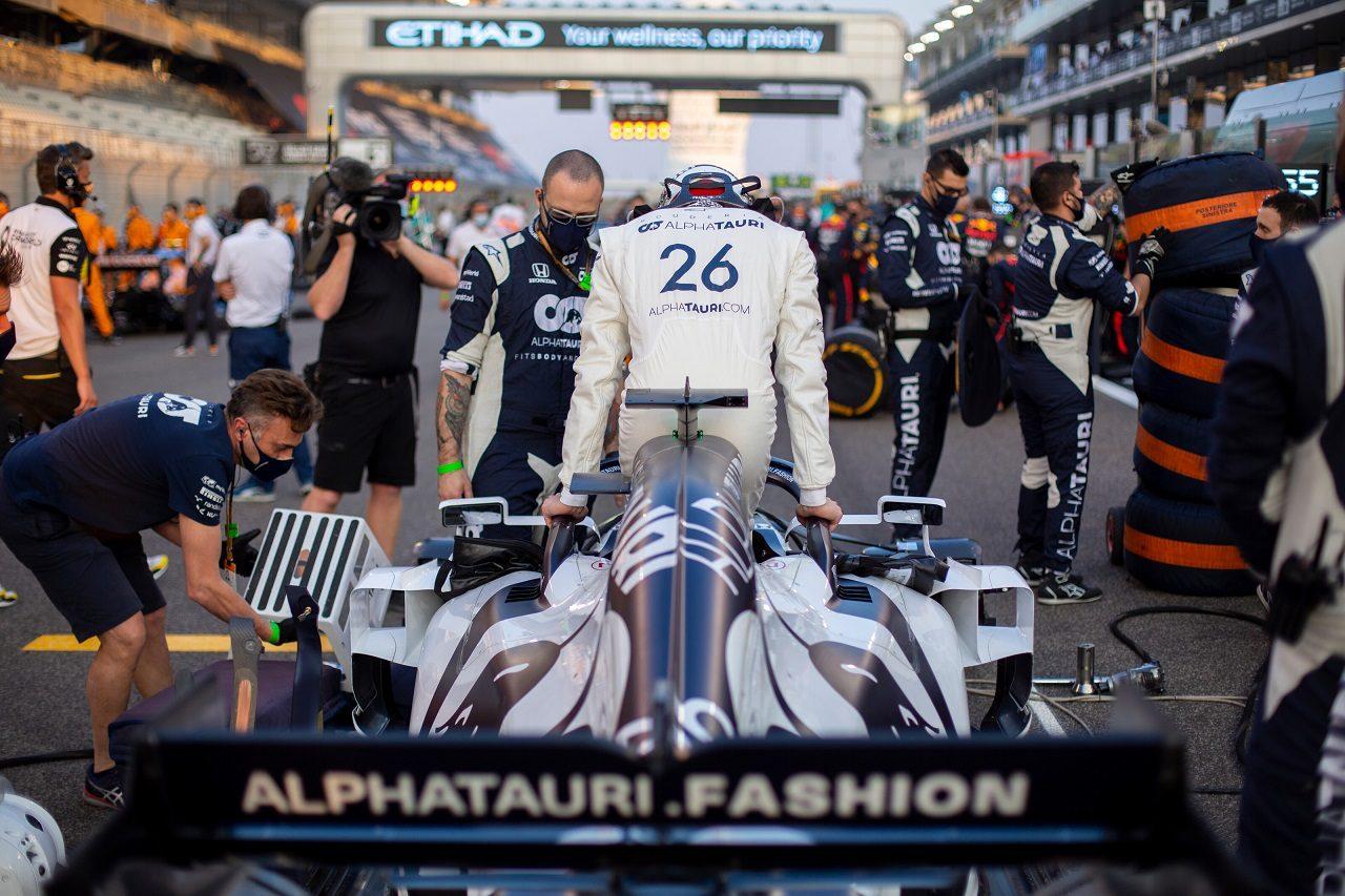 2020年F1第17戦アブダビGP ダニール・クビアト(アルファタウリ・ホンダ)