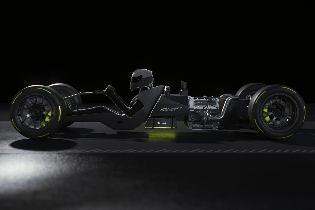 WEC:ル・マン復帰予定のプジョー、ハイパーカーに搭載するパワートレイン詳細を発表