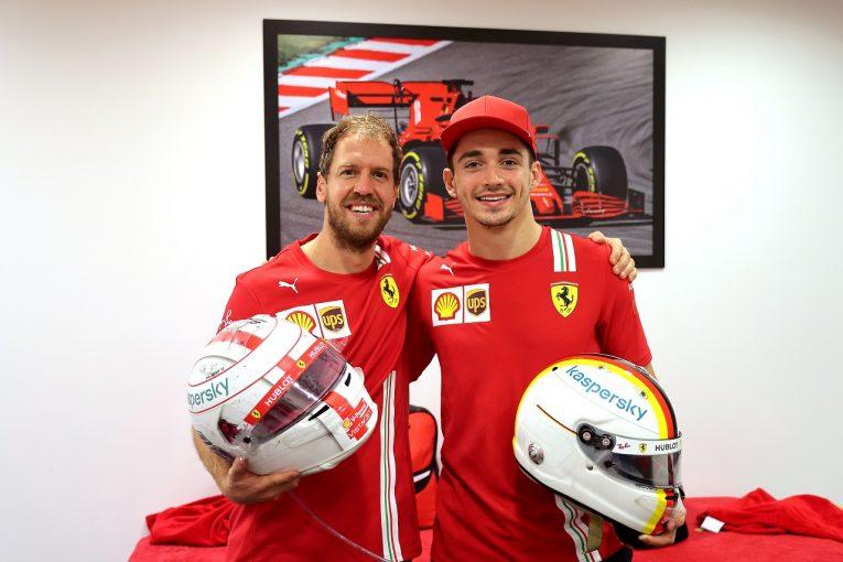F1 | ベッテルがフェラーリに別れ「シャルルと離れるのは寂しいよ」【F1第17戦決勝】