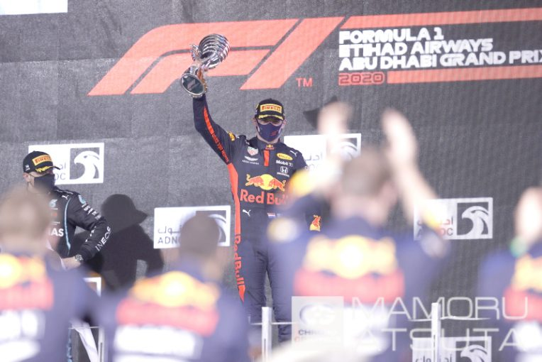 Blog | 【ブログ】Shots!完璧なレースで優勝を飾ったフェルスタッペン。2021年までモチベーションをキープ/F1アブダビGP