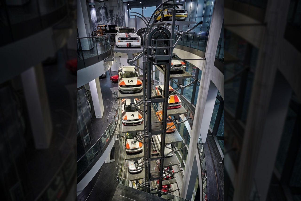 『アウディ・ミュージアム・モバイル』が開館20周年。モータースポーツの歴史的モデルを一堂に展示