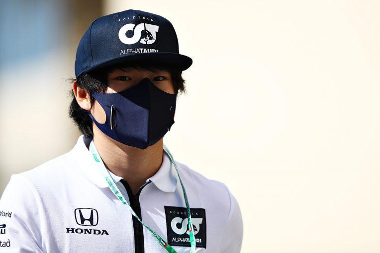 F1 | 角田裕毅がF1デビューに向けて改めてコメント「日本人としてF1に参戦できることを本当に誇りに思う」