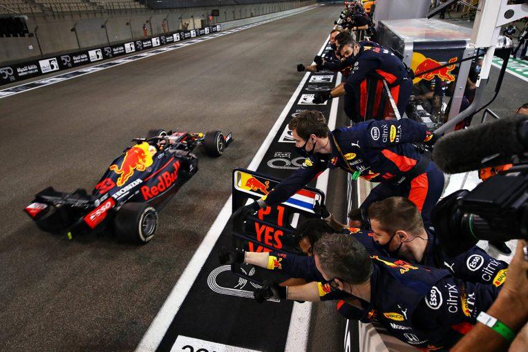 F1   ホンダF1田辺TDレース後会見:「ゴールを切った瞬間に、本当にホッとした」メルセデスに一矢報いた最終戦