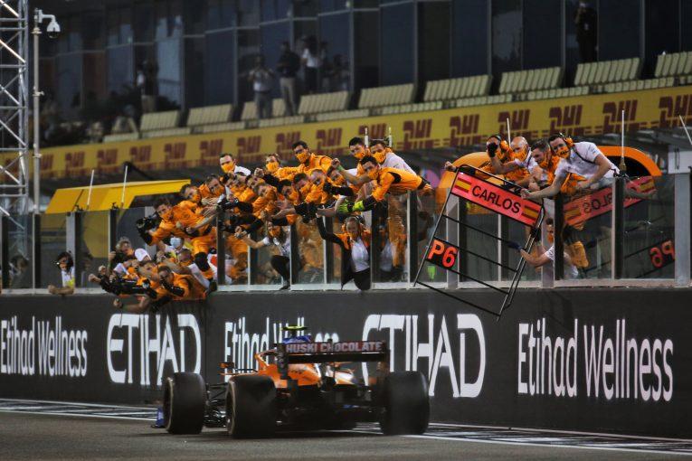 F1   F1選手権3位を獲得したマクラーレン「飛躍のカギはドライバーふたりの完璧な関係」とノリス