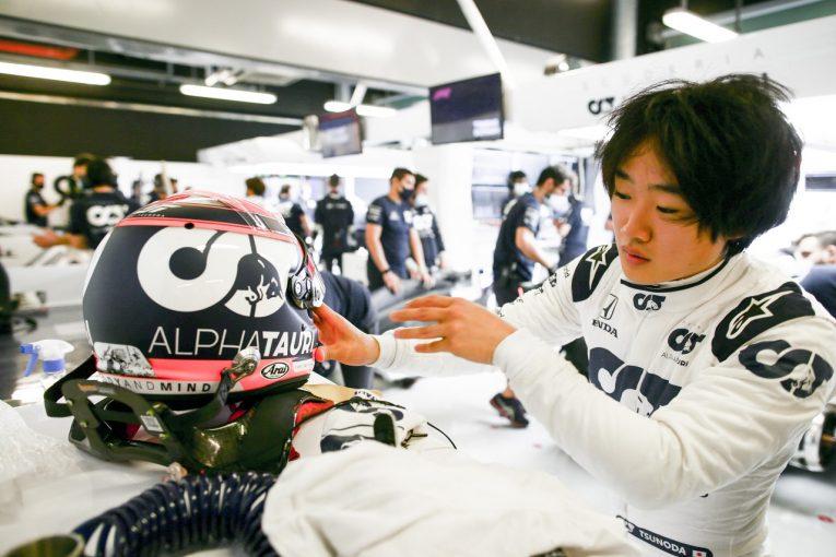 F1 | F1公式テストデビューの角田裕毅「今日の走りから多くを学び、ドライバーとしてさらに進化することができた」