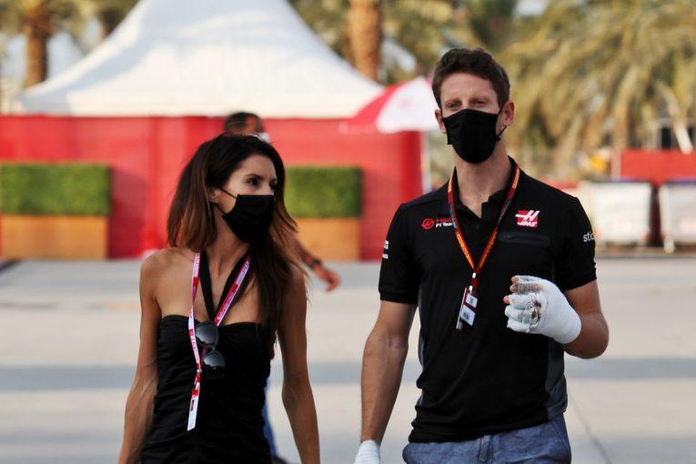 F1 | クラッシュのグロージャン、靭帯の手術を終え、SNSで元気な笑顔を見せる