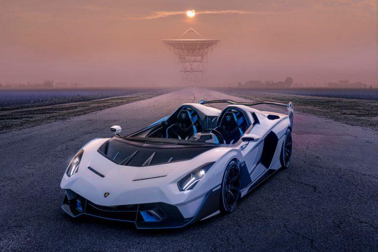 クルマ | 『ランボルギーニSC20』発表。モータースポーツ部門が手掛けたオープントップ・ワンオフモデル