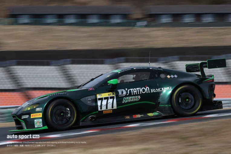 国内レース他 | スーパー耐久:2勝目を手にしたD'station Vantage GT3。「レースラップが良く、終わってみれば大きな差に」と藤井
