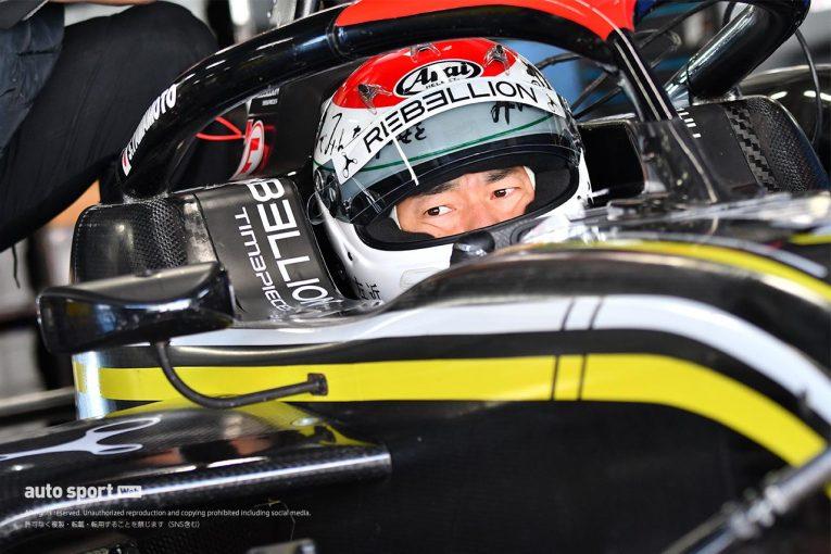 国内レース他   スーパーフォーミュラ・ライツ:山本左近が2015年以来のフォーミュラに「目標は完走です」
