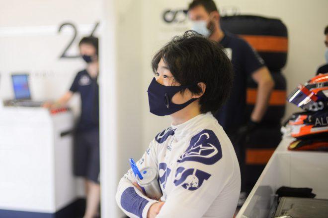 2020年F1アブダビテスト 角田裕毅(アルファタウリ・ホンダ)