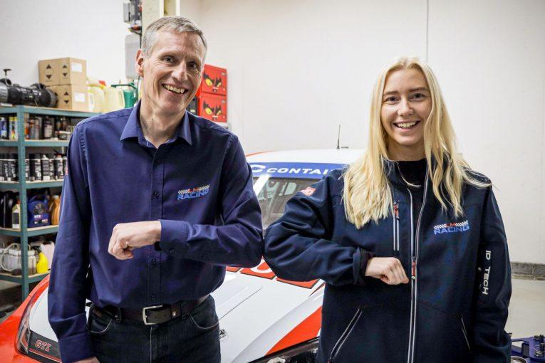 海外レース他 | TCRデンマーク:ヤン・マグヌッセン起用のLMレーシングが体制拡大。女性ドライバーのフロスト加入
