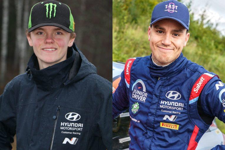 ラリー/WRC   ヒュンダイが2021年WRC2体制を発表。オリバー・ソルベルグがOCベイビーと合流へ