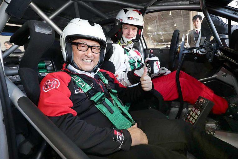ラリー/WRC | WRC:豊田章男社長が新代表就任のラトバラにメッセージ「君のクルマ愛、トヨタ愛が本当にうれしかった」