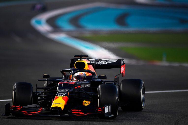 F1   【F1第17戦無線レビュー(1)】1ストップを試みるフェルスタッペン「このタイヤで最後まで走るのは厳しいと思う」