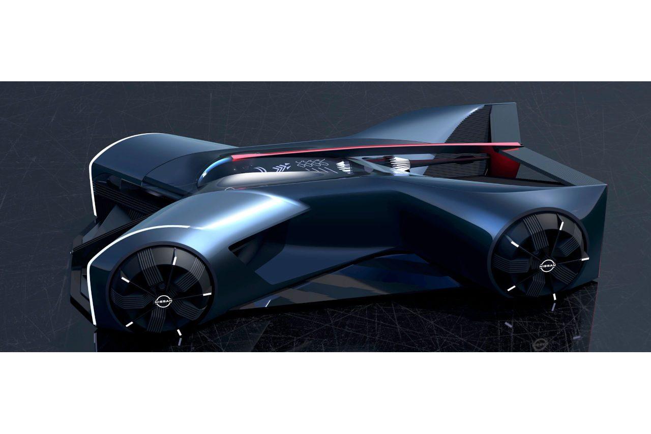 ニッサン『GT-R(X)2050』発表。インターンシップ生が描いた未来のGT-R像を具現化
