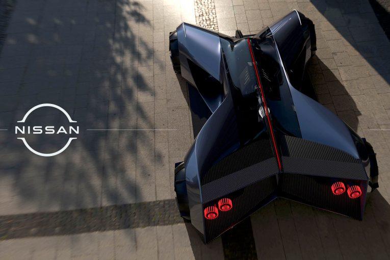 クルマ | ニッサン『GT-R(X)2050』発表。インターンシップ生が描いた未来のGT-R像を具現化