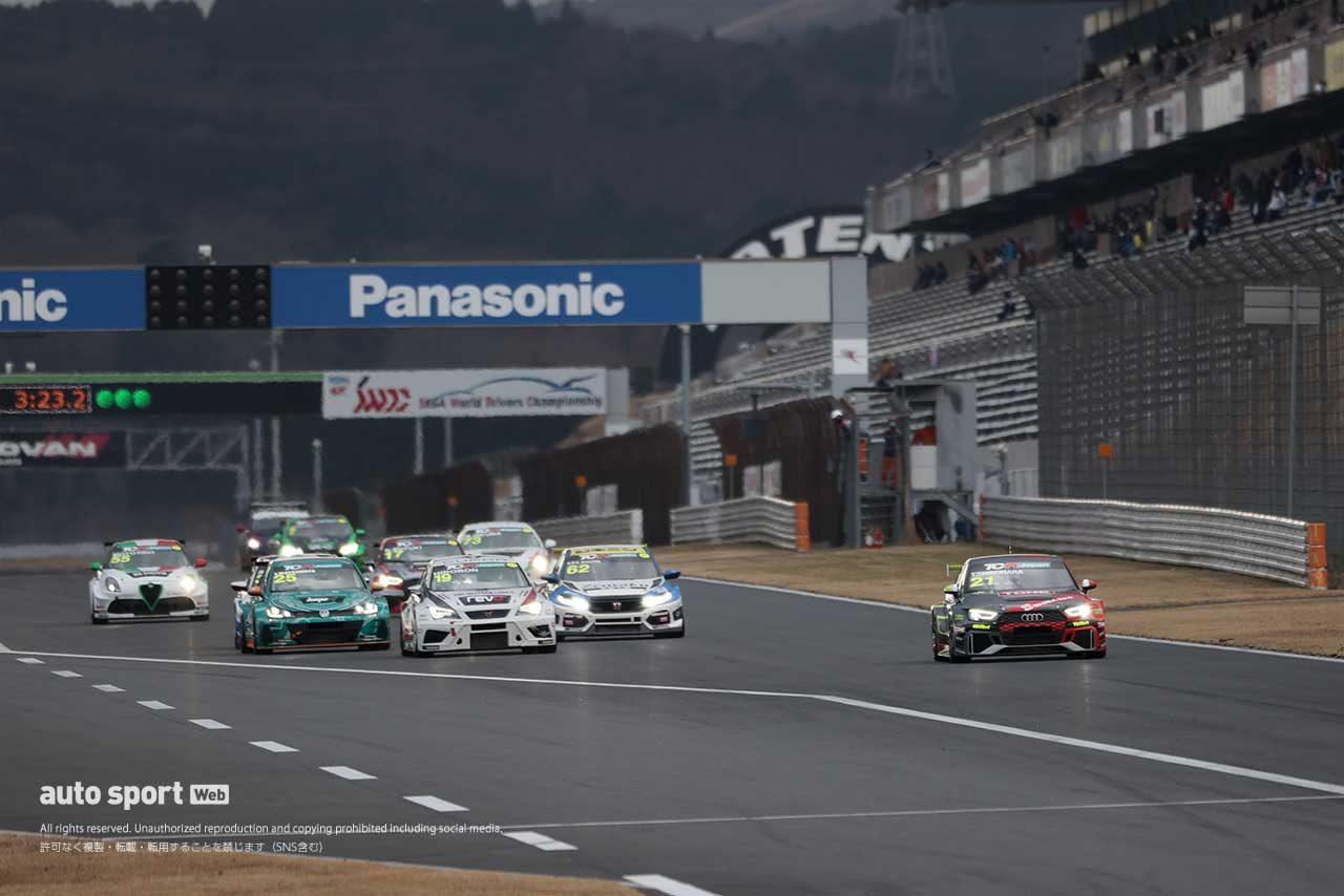 TCRジャパンシリーズ第6戦富士 サタデーシリーズ スタート