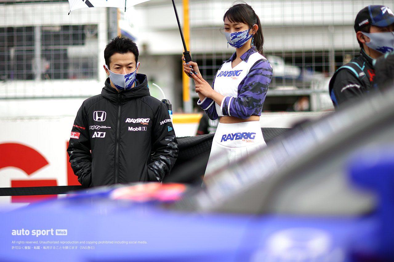 山本尚貴(RAYBRIG NSX-GT)