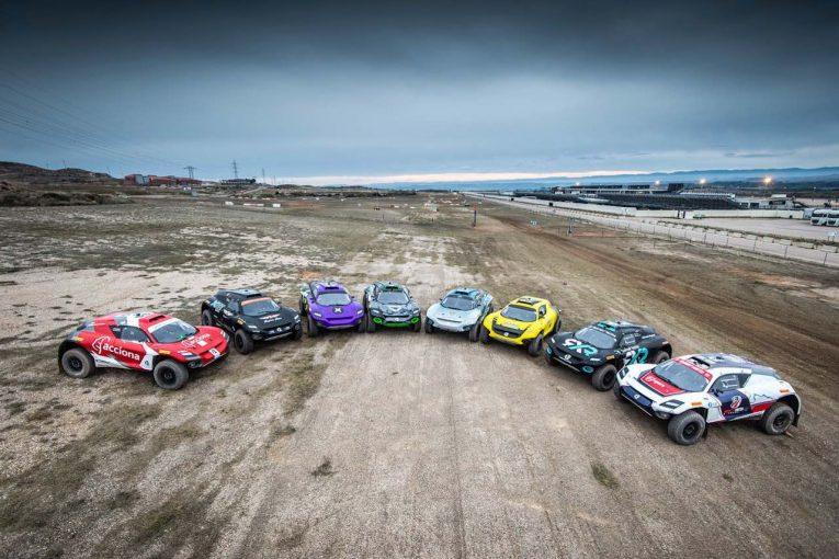 ラリー/WRC | エクストリームEが初の合同テストを完了。サインツJr.も「新しい挑戦」と父のマシンにチョイ乗り