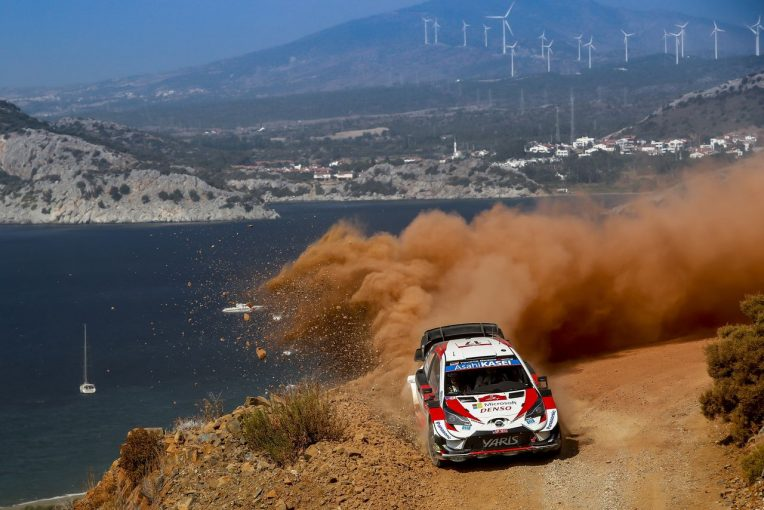 ラリー/WRC   トヨタとヒュンダイの熱戦、勝田貴元の活躍を追ったWRC後半戦ハイライトがNHK BS1で放送