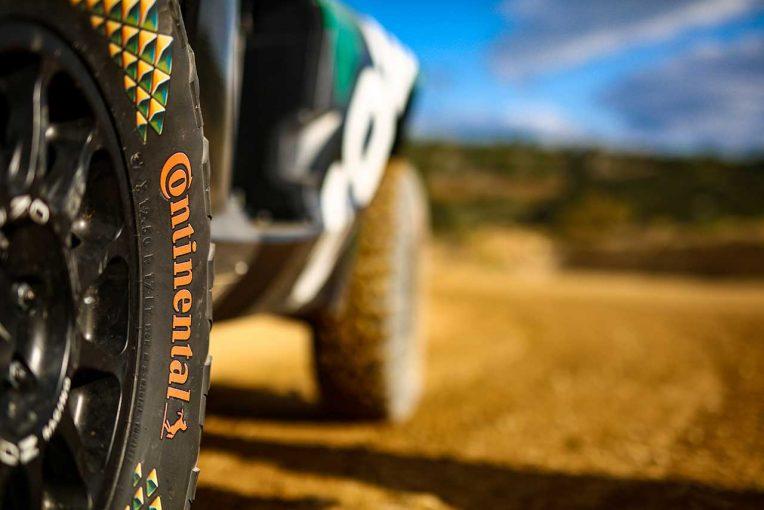 ラリー/WRC | コンチネンタル、エクストリームE用タイヤに管理ソリューション『コンチ・コネクト』を搭載