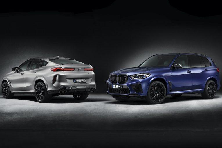 """クルマ   BMWの高性能SAV『X5 M/X6 M』に、特別なマットカラー採用の""""ファースト・エディション""""登場"""
