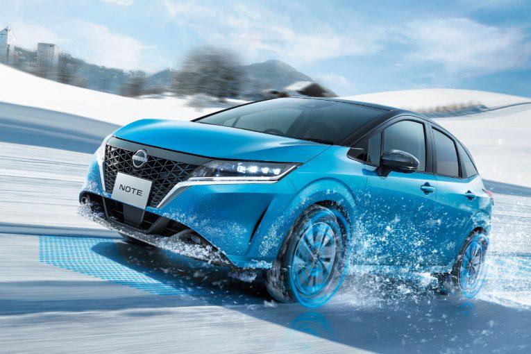 クルマ | ニッサン、新型『ノート』の4WDモデルを発表。2020年度内発売、価格は228万円から