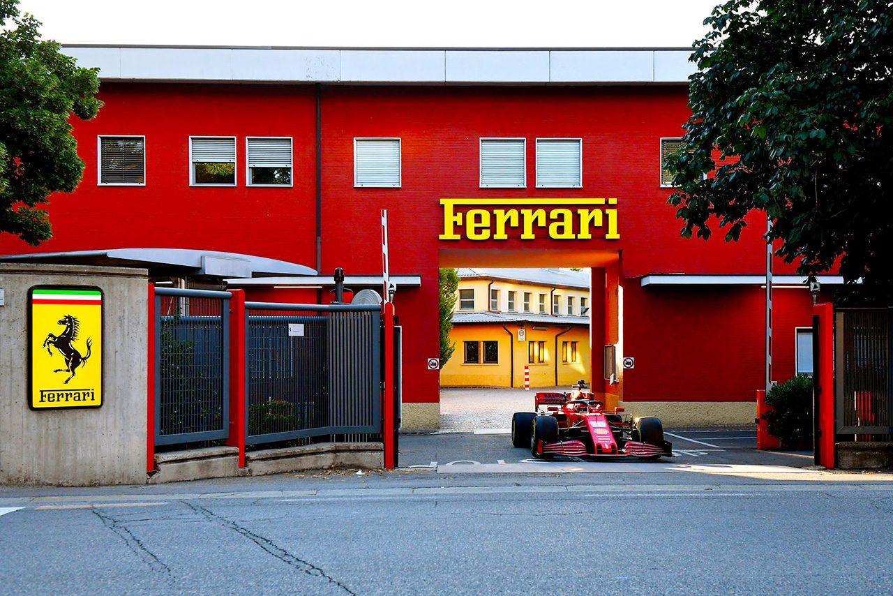 マラネロにあるスクーデリア・フェラーリのファクトリー