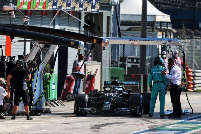 2020年F1第8戦イタリアGP ルイス・ハミルトン(メルセデス)