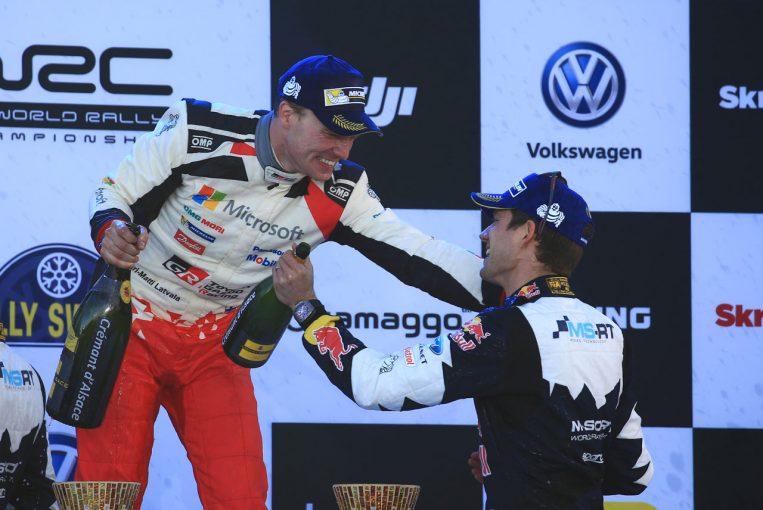 ラリー/WRC   代表にラトバラを起用するトヨタ。オジエとのタッグはWタイトル奪取へどんな化学反応を見せるか