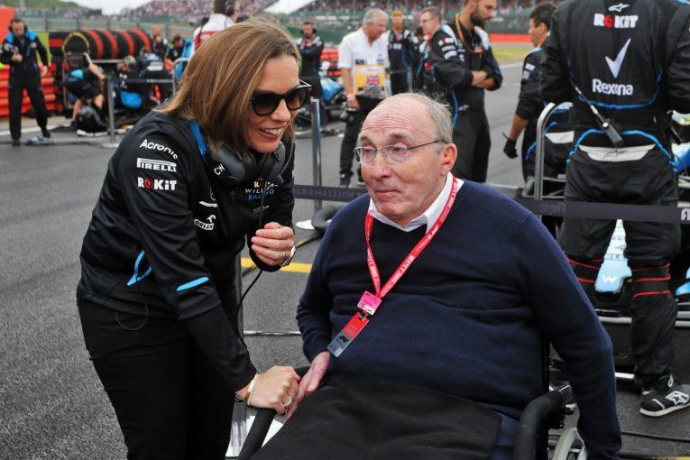 F1   サー・フランク・ウイリアムズが退院。家族がファンのサポートに感謝