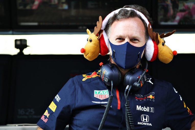 F1   【F1界のSeason's Greetings特集】コミカルなイラストやアドベントカレンダーでクリスマスを祝福