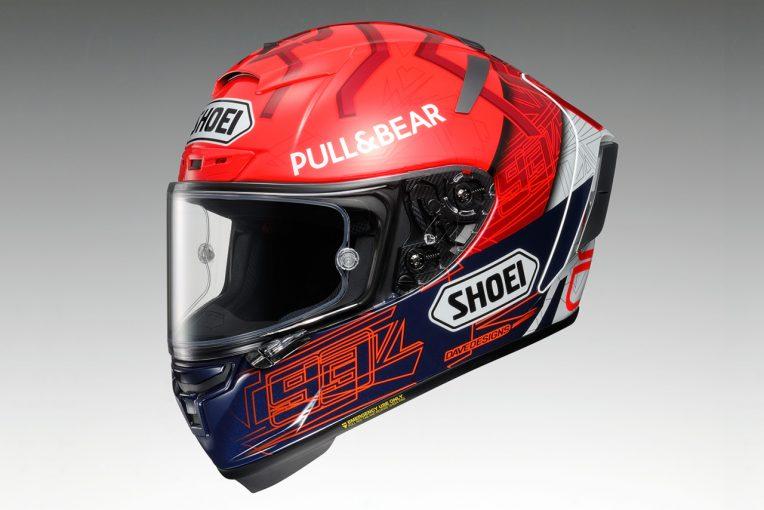 MotoGP | MotoGP:ショウエイ、マルク・マルケスの新レギュラーグラフィックモデル『X-Fourteen MARQUEZ 6』を2021年3月に発売