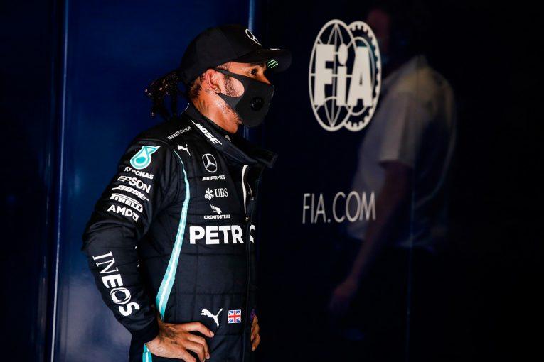 F1   F1王者ハミルトン、多数のペナルティから学習「二度と疑念を持たれる行動はしない」
